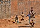 Blegansigterne kommer. Burkina Faso, 2008