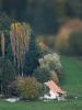 Landskab med gård. Alsace