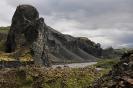 Hljodaklettar Island