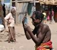 Landsbytosse. Etiopien