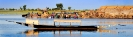 Båd på Nigerfloden. Mali