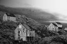 Fangerhuse i sort/hvidt