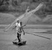 Fiskere på Nigerfloden. Mali